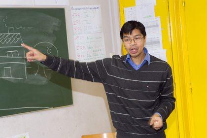 Professeur au Lycée